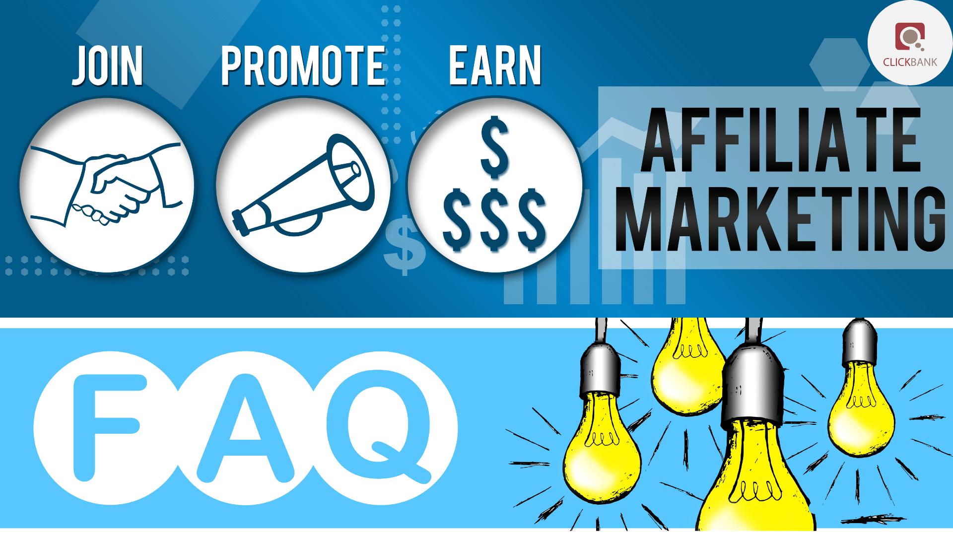 Clickbank affiliate marketing FAQ