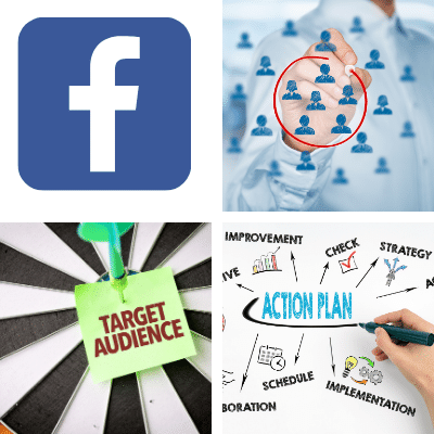 Facebook audience strategy targeting and implementation.