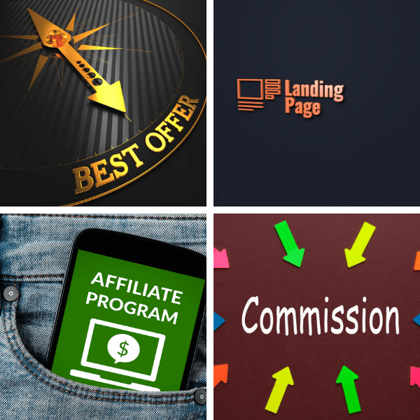 Find the best offers,create a sales web page and generate affilaite sales and commissions.